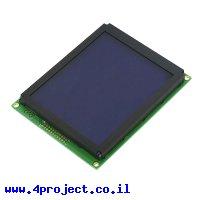 LCD גרפי לבן על כחול, 160x128 STN, תאורת רקע