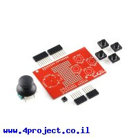 מגן Arduino Joystick - ערכה