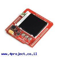 מגן Arduino LCD צבעוני