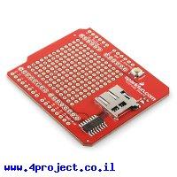 מגן Arduino microSD - גרסה קודמת