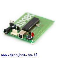 כרטיס פיתוח PIC 40 Pin עם USB ל-PIC18F4550