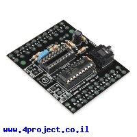 כרטיס פיתוח PICAXE 18 Pin סטנדרטי