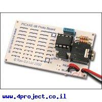כרטיס פיתוח PICAXE 8 Pin - ערכה