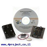 כרטיס פיתוח PICAXE 18X - ערכת התחלה