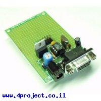 כרטיס פיתוח AVR 8 Pin