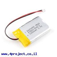 סוללה - LiPoly 3.7V/1000mAh/2C