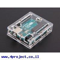 מארז אקרילי לכרטיסי Arduino UNO