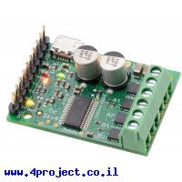 בקר מנוע צעד עם מגוון ממשקים Tic 36v4 - מורכב