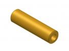 """תמונה של מוצר צינור חלול מפליז 4.1/8 מ""""מ - אורך 30 מ""""מ"""
