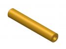 """תמונה של מוצר צינור חלול מפליז 4.1/8 מ""""מ - אורך 50 מ""""מ"""