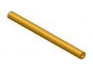 """תמונה של מוצר צינור חלול מפליז 4.1/8 מ""""מ - אורך 100 מ""""מ"""
