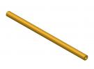 """תמונה של מוצר צינור חלול מפליז 4.1/8 מ""""מ - אורך 150 מ""""מ"""