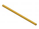 """תמונה של מוצר צינור חלול מפליז 4.1/8 מ""""מ - אורך 200 מ""""מ"""