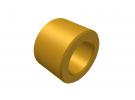 """תמונה של מוצר ספייסר פליז 4.1/7 מ""""מ - אורך 5 מ""""מ"""