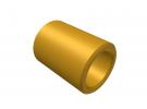 """תמונה של מוצר ספייסר פליז 4.1/6 מ""""מ - אורך 8 מ""""מ"""