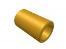 """תמונה של מוצר ספייסר פליז 4.1/6 מ""""מ - אורך 10 מ""""מ"""