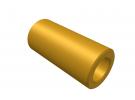 """תמונה של מוצר ספייסר פליז 4.1/7 מ""""מ - אורך 15 מ""""מ"""