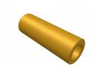 """תמונה של מוצר ספייסר פליז 4.1/7 מ""""מ - אורך 20 מ""""מ"""