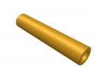 """תמונה של מוצר ספייסר פליז 4.1/7 מ""""מ - אורך 35 מ""""מ"""