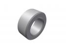 """תמונה של מוצר ספייסר אלומיניום 4.1/7 מ""""מ - אורך 3 מ""""מ"""
