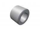 """תמונה של מוצר ספייסר אלומיניום 4.1/7 מ""""מ - אורך 5 מ""""מ"""