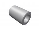 """תמונה של מוצר ספייסר אלומיניום 4.1/7 מ""""מ - אורך 10 מ""""מ"""