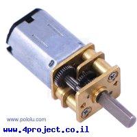 מנוע מיקרו HP 2000rpm @ 6V