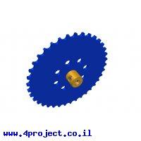 גלגל שיניים לשרשרת שלבים מקופלים - 37 שיניים