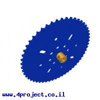 גלגל שיניים לשרשרת שלבים מקופלים - 53 שיניים