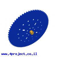 גלגל שיניים לשרשרת שלבים מקופלים - 73 שיניים