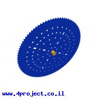 גלגל שיניים לשרשרת שלבים מקופלים - 97 שיניים