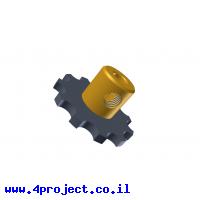 """גלגל שיניים לשרשרת 6x2.8 מ""""מ - 11 שיניים"""