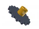 """תמונה של מוצר גלגל שיניים לשרשרת 6x2.8 מ""""מ - 17 שיניים"""