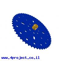 """גלגל שיניים לשרשרת 6x2.8 מ""""מ - 53 שיניים"""