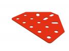 תמונה של מוצר תומך טרפז 14 חורים - שטוח אדום