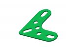 תמונה של מוצר תומך זוית 3x3 חורים ירוק