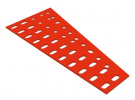 תמונה של מוצר תומך גלגלי שיניים טרפז 40 חורים - שטוח