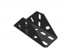 תמונה של מוצר תומך מתומן 18 חורים - מקופל שחור