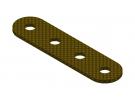 תמונה של מוצר פס מחורר מבודד - 4 חורים