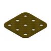 תמונה של מוצר פלטה שטוחה מבודדת 3x3