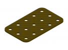 תמונה של מוצר פלטה שטוחה מבודדת 3x5