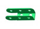 """תמונה של מוצר ציר """"U"""" חד-צדדי 3 חורים"""