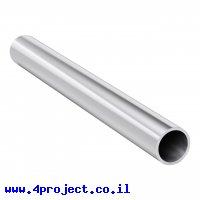 """צינור אלומיניום 32 מ""""מ - אורך 300 מ""""מ"""