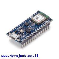 כרטיס פיתוח Arduino Nano 33 BLE עם מחברים