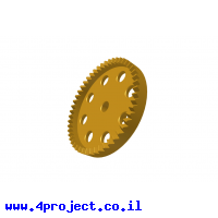 גלגל שיניים 50/38DPI 90deg