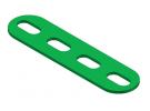 תמונה של מוצר פס מחורר עם חורים ארוכים - 4 חורים