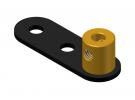 תמונה של מוצר כננת זרוע אחד - 2 חורים עגולים
