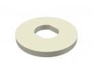 """תמונה של מוצר ספייסר פלסטיק לרכזת גלגלי שיניים - 20 מ""""מ"""