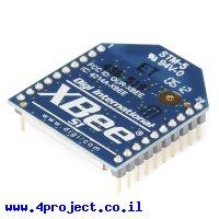 מודול תקשורת XBee S1 1mW - אנטנת PCB