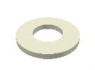"""תמונה של מוצר ספייסר פלסטיק 4.3/10 מ""""מ עובי 1 מ""""מ - חבילה של 10"""